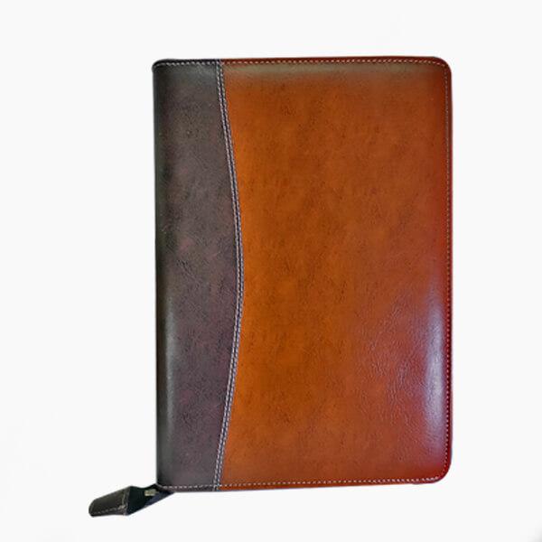 file folder leather
